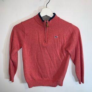 Vineyard Vibes Boys 7 Quarter Zip Sweater